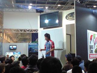 フィッシングショー大阪2010村長