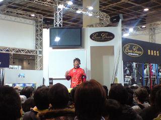 フィッシングショー大阪2010清水盛三氏